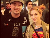 hayley and fan