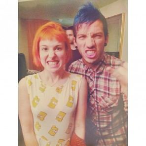 hayley williams + josh dun
