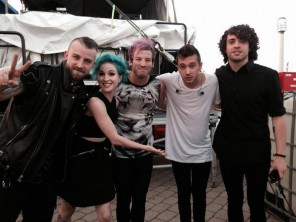 paramore a twenty one pilots, AP music awards 2014