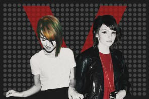 Hayley Williams a Lauren Mayberry