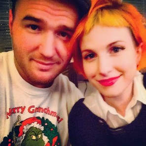 Hayley Williams Engaged To Chad Gilbert-1
