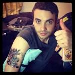 taylor a nové tetování