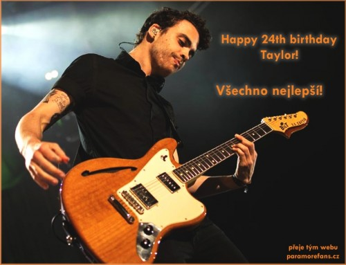 happy birthday taylor