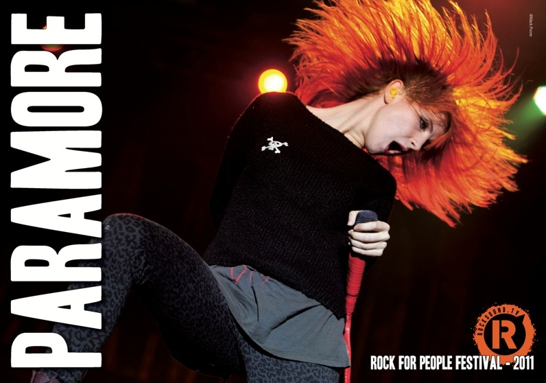 paramore poster rock for people